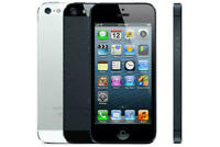 Apple iPhone 5 - 16 32 64 GB - Silver/Black Unlocked   SIM Free Smartphone