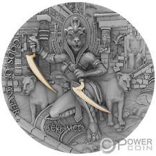 SEKHMET Gods of Anger 2 Oz Silver Coin 5$ Niue 2021