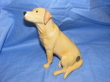 John Beswick Cane Labrador Appoggiata JBD53YEL Figurina Regalo Nuovo In Scatola