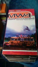 New listing Point X Camp Presents MW4 Mini Warriors 2001 VHS MX motorcycle dirtbike McCassy