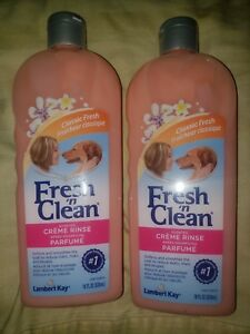 Lambert Kay Fresh 'N Clean 18 Oz Scented Creme Rinse 2-pack
