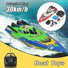 RC Boot 2.4GHZ 4 Kanal 20km/H Ferngesteuert Rennsport Boot Elektrisch Spielzeug