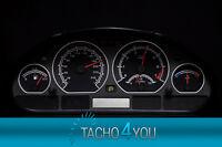 Tachoscheibe für BMW Tacho E46 Benzin oder Diesel M3 Schwarz 3074 Tachoscheiben