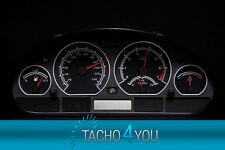 Disco TACHIMETRO PER BMW e46 Tachimetro Benzina o Diesel m3 NERO 3074 TACHIMETRO