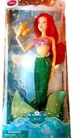 Disney Store Exclusive Princess Ariel Classic Doll With Flounder Bnib Mermaid 3+