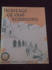 Heritage Of Our Territory - Santa Fe Hunt Club San Diego County, CA 1975 PB Book