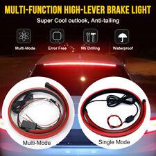 Car LED High Level/Third Brake Tail Light Strip Rear Windshield Tip Fog Lamp 12V
