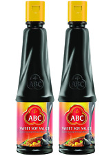 Abc Sweet Soy Sauce, Marinade Dip, Black Dark Halal Vegan, 20.2 Fl. Oz 600mL (Pa