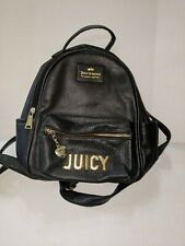 🎀💖 juicy couture mini backpack Soft Pebble Retail $89 black