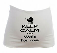 Bandeau Grossesse Maternité Keep Calm and Wait for me - Future maman enceinte