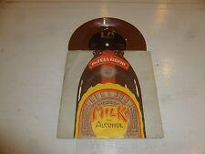 "DR FEELGOOD - Milk And Alcohol - 1978 UK vinyl 7"" BROWN Vinyl Single"
