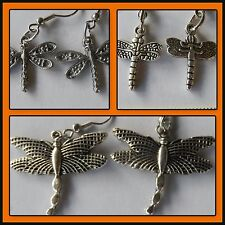 Dragonfly, 3 styles Dragonfly earrings popular hook style