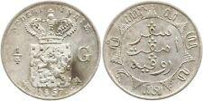 Niederländisch Ostindien, Wilhelm III., 1/4 Gulden 1857