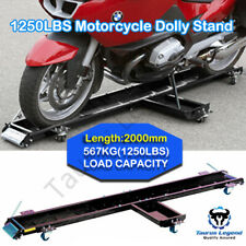 Harley Motorbike Slider Heavy Motorcycle Dolly Garage Mover Parking Stand 567kg
