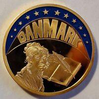FARB-ECU 1993 - Danmark / Dänemark - teil-vergoldet PP / PROOF - mit Zertifikat