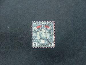 Zanzibar 1896 3a bluish grey SG163 G-FU