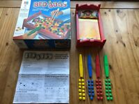 Vintage Bed Bugs Game MB Games, Motorised Hoping Jumping Game