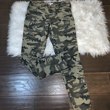 New York & Co Camouflage Skinny Pants Women's Size 12