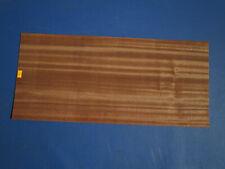 Mahagoni Pommele Furnier Sapeli  quilted 6F 340x23//24cm 1 Bl