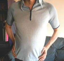 Chemise polo homme vintage des années 70 taille S/M