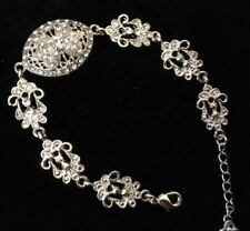 Beautiful Antique Looking Diamanté Bracelet