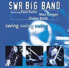 SWR BIG BAND feat. PAUL KUHN, MAX GREGER, DIETER REITH - CD - Swing Swing Swing