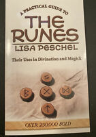A Practical Guide To The Runes by Lisa Peschel~Paperback~Hoodoo, Wicca, Pagan