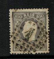 Portugal SC# 31, Used, Hinge Rem, left side embossing tear, some toning - S3173
