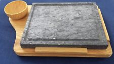 PORTA PIOTA piotta pioda BISTECCHIERA griglia cucinare sasso legno pietra ollare