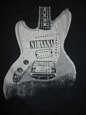 Nirvana Electric Guitar (3Xl) T-Shirt Kurt Cobain