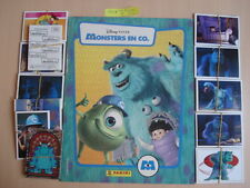 PANINI  EMPTY ALBUM + ALL 198 STICKERS MONSTERS EN CO