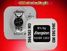 20 x Energizer Knopfzelle 364/363 SR621SW SR60 AG1 Silberoxid Uhrenbatterie