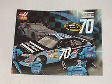 2008 HAAS CNC RACING #70 ATLAS COPCO NASCAR POSTCARD