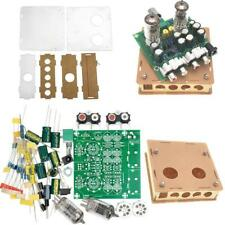 AC12V 6J1 Valve Pre-amp Tube Board Headphone Amplifier+Acrylic Case DIY-Kits