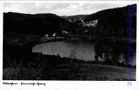 AK Stare Drawsko (Alt Draheim) i. Pom. Burghotel, 1935, Fotokarte, 01/03