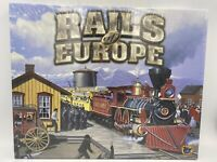 Eagle Games Rails of Europe Expansion Pack For Eagle Game's Railroad Boardgame