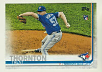 2019 Topps Update VARIATION #US63 TRENT THORNTON RC Rookie Toronto Blue Jays SP