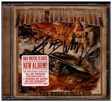 Bob Wayne - Till The Wheels Fall Out CD Autogramm