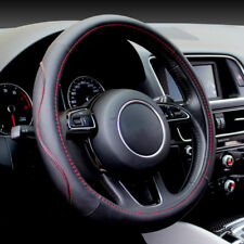Luxury Auto Car Steering Wheel Cover PU Leather Universal 38cm Cover All Season