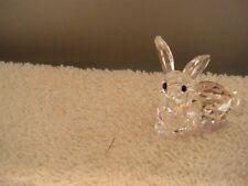 Swarovski crystal - Rabbit Lying