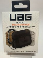 Authentic Urban Armor Gear UAG Weatherproof AirPods Pro Silicone Case (Black)