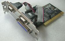 Longshine LCS-6022 PCI Karte 1 Port Parallel 2 Port Seriell Card LCS 6022 #