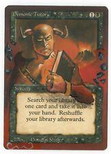 Demonic Tutor Revised Altered Full Art MTG Magic Commander EDH Vintage Legacy