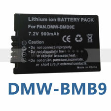 NEW BATTERY for PANASONIC Lumix DMC-FZ45 DMC-FZ47 DMC-FZ40 DMW-BMB9 DMW-BMB9E