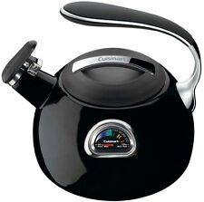 Cuisinart PerfecTemp 12 Cup Stovetop Tea Kettle in Black Perfect Energy Saving