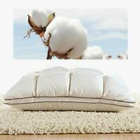 4D Home Hotel Luxury Four Seasons Bed Goose Down Feather Pillow Core Washable