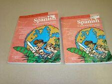 2 Children's Spanish Activity Book - Power-Glide Foreign Language