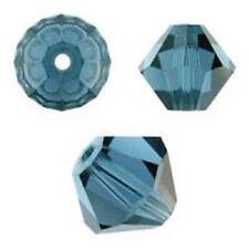 Swarovski Crystal Bicone. Montana Color. 4mm. Approx. 144 PCS. 5328