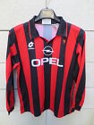 VINTAGE Maillot MILAN AC n°8 maglia LOTTO shirt 90'S ancien XS