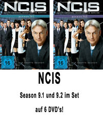 6 DVDs * NCIS - STAFFEL  9 ( 9.1 + 9.2 ) DIGIPACK IM SET  - NAVY # NEU OVP +